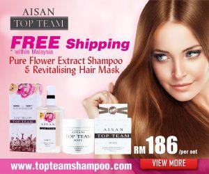 Aisan Top Team Haircare Shampoo Malaysia 300x250 Aisan Top Team Silicone Free Haircare Shampoo Malaysia