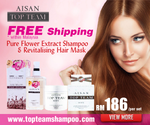 Aisan Top Team Silicone Free Hair Care Shampoo & Conditioner